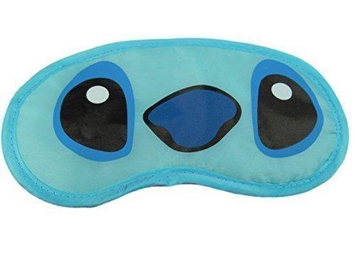 Fat-catz-copy-catz, mascherina copriocchi da viaggio Lilo e Stitch, per bambini e adulti