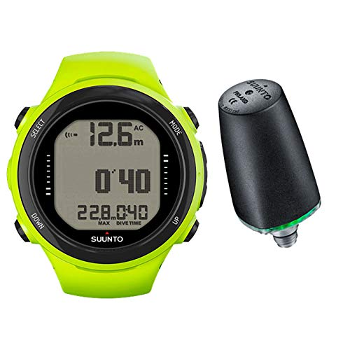 Storm Accessories Suunto Huish D4i LED Wireless Transmitter - Lime 1