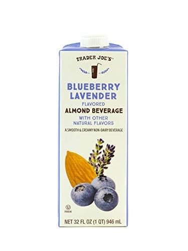 Trader Joe's Blueberry Lavender Flavored Almond Beverage (4 Pack)