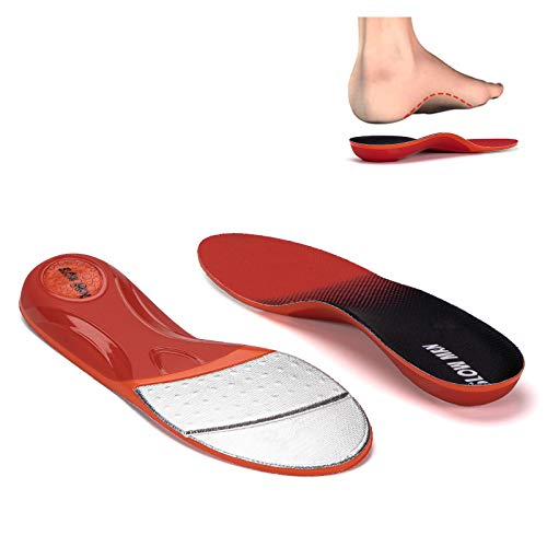 Arch Support Insoles for Men and Women Plantar Fasciitis Shoe Insoles - Gel Orthotic Insoles for High Arch Flat Foot Pain - Memory Foam Running Boot Insoles - Comfort Shoe Inserts & Insoles 5.5-6.5