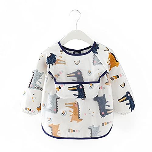 Frotox Baberos para bebés para niños y niñas, baberos para la dentición, baberos para niñas y niños, baberos para bebés, baberos de tela lavables a máquina para recién nacidos (C)