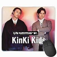 Kinkikids (2) 滑り止めゴムパッドゲームマウスパッドキーボードラップトップコンピュータースピードマウスマウスpcデスクプロテクターマット マウスパッド