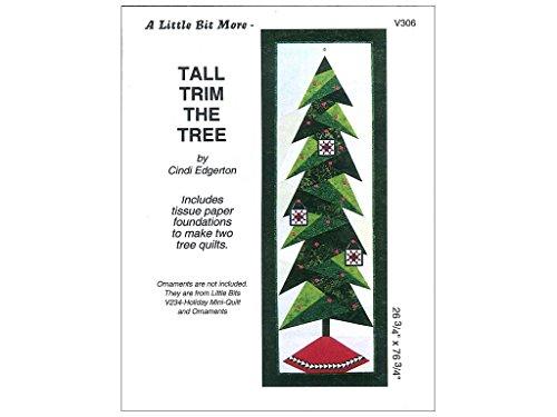 Tall Trim The Tree Pattern