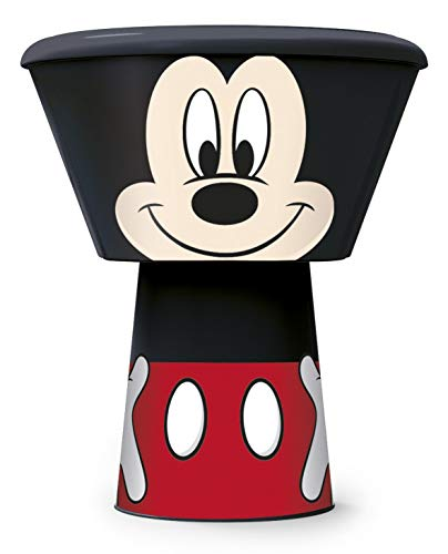 Disney Mickey Mouse Childrens Stacking Meal Set, Red, Set of 3