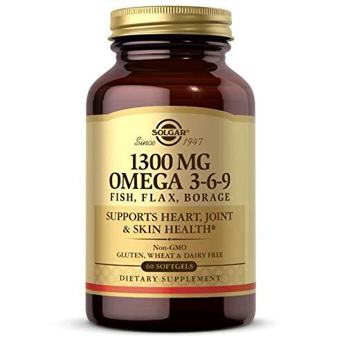 Solgar Omega 3-6-9 Softgels, Pack of 60