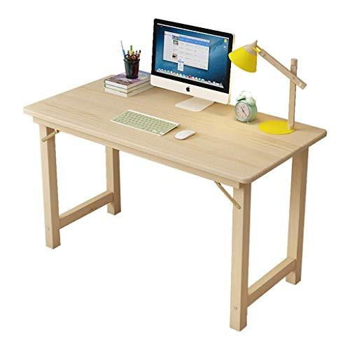 N/Z Mesas de Equipo Diario Escritorios Estaciones de Trabajo Mesa Plegable Escritorio de Pino para el hogar/Mesa de Aprendizaje de Escritorio/Tocador 120X60X75CM 120X60X75CM