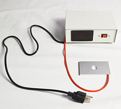 INTBUYING 110V Microscope Temperature Control Stage Slide Warmer Digital Constant Thermostat Heated Lab Equipment