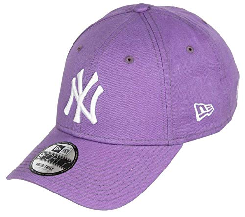 New Era York Yankees 9forty Adjustable cap Solid Back Hit Purple - One-Size
