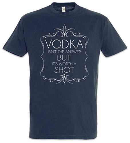 Urban Backwoods Vodka Isn't The Answer Heren T-Shirt