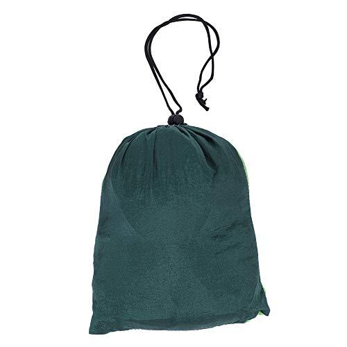 NITRIP Travel Hammock, Outdoor Hammock Extra-Strong Sleeping Swing, Breathable Backpacking for Hiking(Fruit Green Fight Dark Green)
