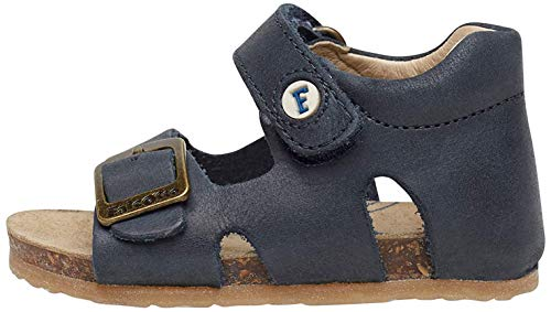 Falcotto Unisex Baby Bea Sandalen, Blau (Bleu 0c01), 24 EU