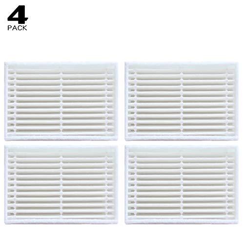 4 Filte für Proscenic Summer P1 P2 P3, Zubehör/Ersatzfilter für Proscenic P1 P2 P3, Ersatzteile/Austauschsets für Proscenic