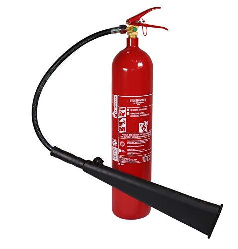Feuerlöscher CO2/Kohlendioxid GS-5x B 5kg (Instandhaltungsplakette)