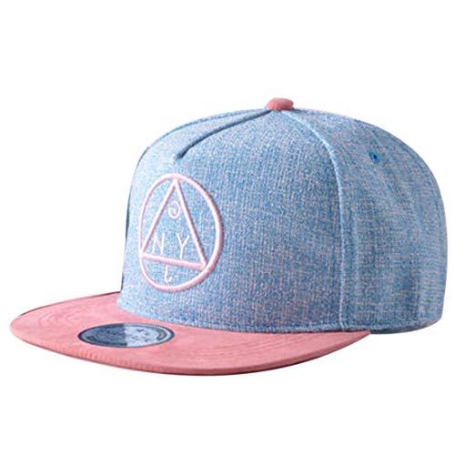 Thenice Kind Hip-Hop Cap Baseball Kappe Hut (A azurblau)
