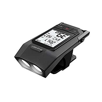 SHANREN Wireless Bike Computer Raptor II Pro Built-in Front Light Odometer,Rechargeable Cycling Computer with Speed and Cadence Sensor for Most Bikes  Raptor II PRO