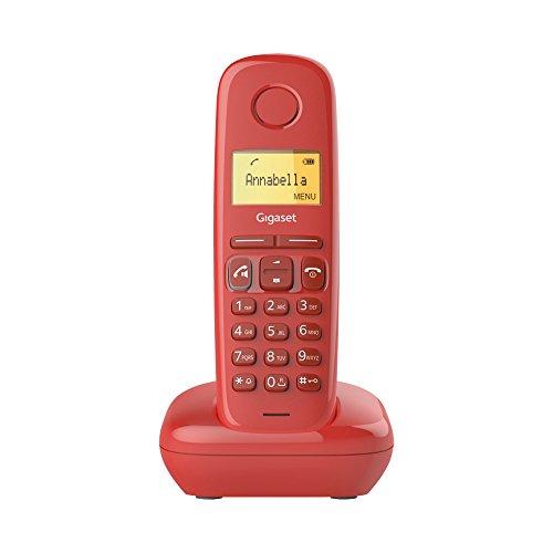 Gigaset A270 Festnetz-Telefon Rot schnurlos DECT