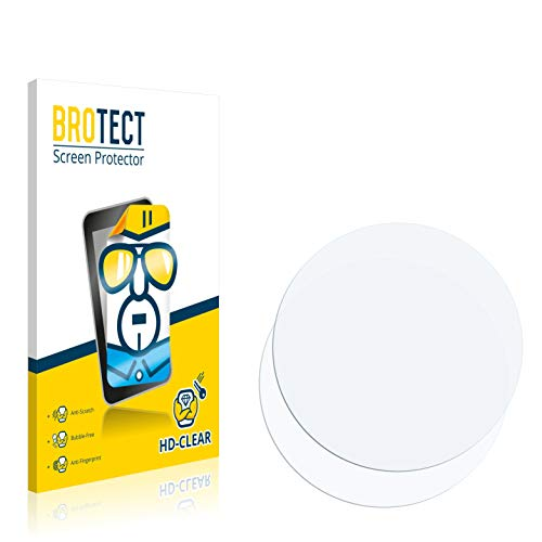 BROTECT Schutzfolie kompatibel mit Runtastic Moment Basic (2 Stück) klare Bildschirmschutz-Folie