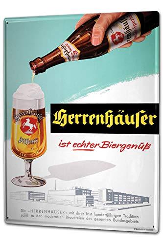 LEotiE SINCE 2004 Blechschild Privatbrauerei Herrenhausen Herrenhäuser Biere 20x30 cm