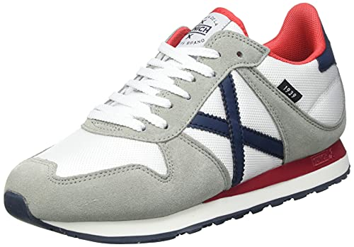 Munich Massana 434, Zapatillas Unisex Adulto, Blanco, 45 EU