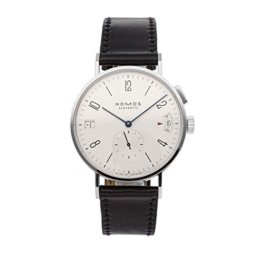 Price comparison product image Nomos Glashutte Tangomat Mechanical (Automatic) Silver Dial Mens Watch 635 (Certified Pre-Owned)