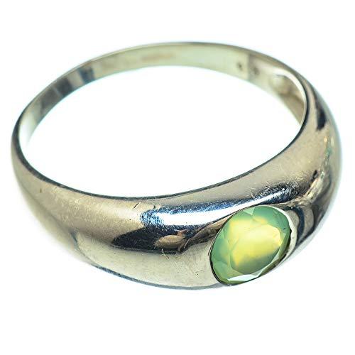 Ana Silver Co Prehnite Ring Size Z 1/2 (925 Sterling Silver)