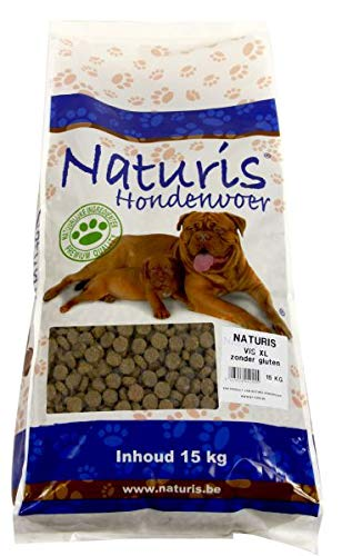 15 KG Naturis brok vis xl hondenvoer