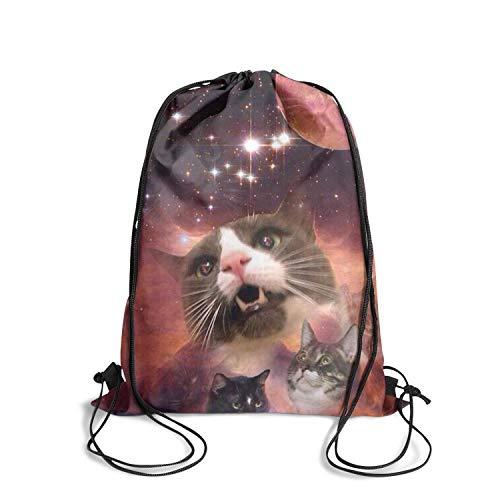 Drawstring Backpack Bag Infantry Pack large Space big-cat-travel-Outdoor Best
