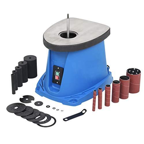 VidaXL Lijadora Husillo Oscilante 450 W Azul Máquina