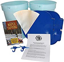 Maple Syrup Tapping Kit - Plastic Bucket, Bucket Lid, and Maple Sap Tapping 5/16
