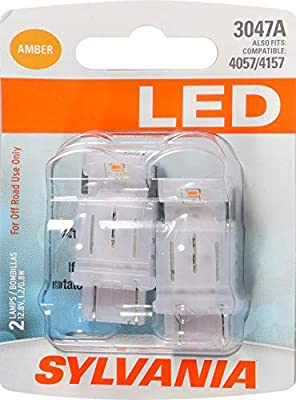 SYLVANIA 3047 Red LED Bulb (Pack of 2)