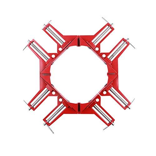 Haakse klem 90 graden positioneringshouder, doe-het-zelf handgereedschap hoekklem, geschikt voor houtbewerking, boren en kasten maken