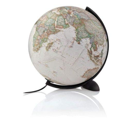 NATIONAL GEOGRAPHIC - Globo Executive, sin pie, 30 cm, Color Sepia (Tecnodidattica...