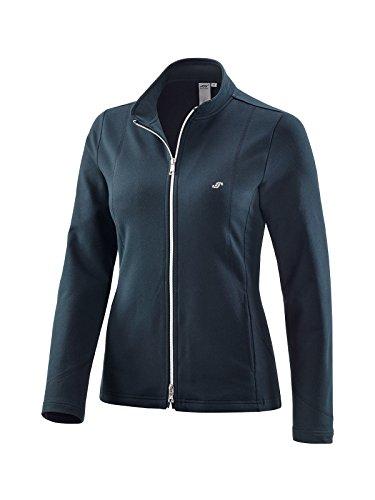 Joy Sportswear Dorit Sweatjacke für Damen aus Baumwoll-Stretch-Stoff mit Stehkragen, figurbetonte Sport- und Outdoorjacke für Aktivitäten wie Running oder Fitness 46, Night