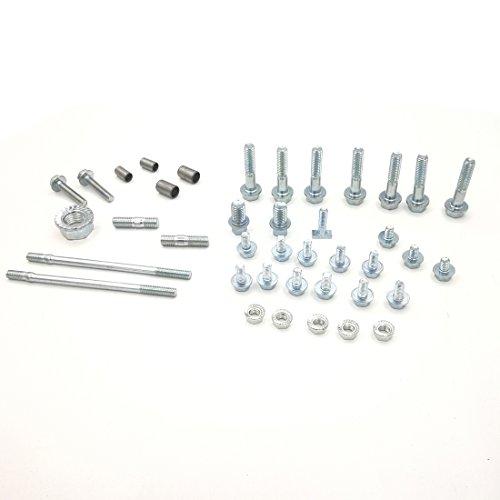Canle volledige set schroefmoeren fixeerpen voor Honda GX390 GX270 GX240 GX420 GX160 GX200 GX120 motor van waterpomp en generator für GX120 GX160 GX200