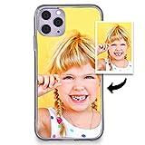 Funda Personalizada iPhone 11 con tu Foto.Protector Carcasa Suave de Gel antigolpes de Regalo.Vinilo Carcasa.Todas Las Marcas del Mercado.