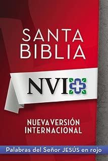 NVI Santa Biblia con letra roja (Spanish Edition)