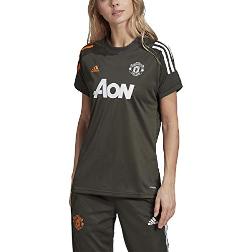 adidas Female Manchester United Training Jersey,Earth,M