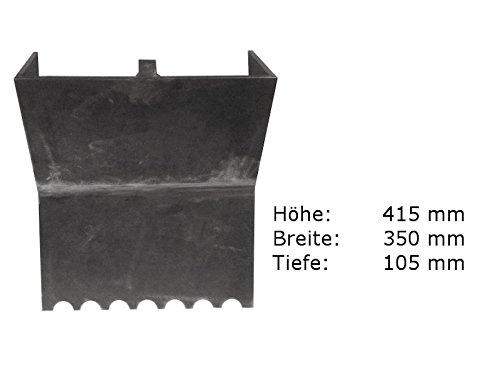 Rückwand für Kamin -/ Heiz - Einsatz Kago Garanta 600 - 603