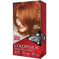 Revlon Colorsilk Beautiful Color Permanent Hair Color, 53 Light Auburn (4.4 Ounces)
