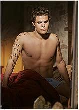 The Vampire Diaries Paul Wesley as Stefan Salvatore Shirtless HOT in Bed 8 x 10 Photo