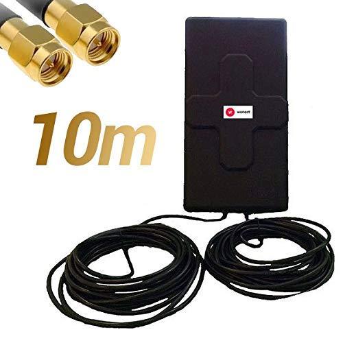 Antena 4G 50dbi LTE UMTS 3G exterior cable SMA integrado