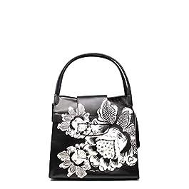 Desigual – Grand sac à main cabas bohème femme en simili cuir Blomming (19waxp17) taille 15.5 cm