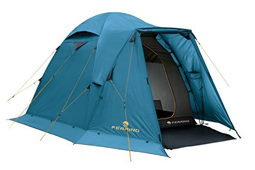 Ferrino Shaba 3 Seasons Tent Sky Blue Blue Size:3 Seats by