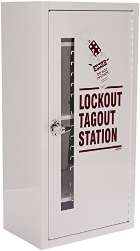 Brady  LC977A,  Lockout Tagout Station, Cabinet Only with Locking Handle