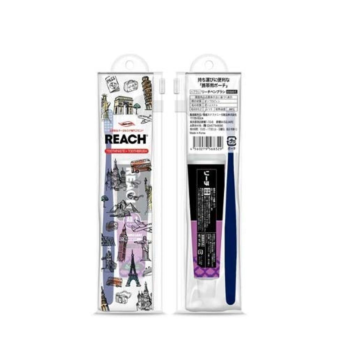 リーチトラベルセット(デンタル歯ブラシ1本?薬用歯みがき40g) × 3個セット