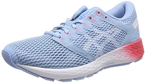 Asics Roadhawk FF 2, Zapatillas de Running para Mujer, Azul (Skylight/White 401), 38 EU