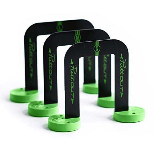 PuttOut Pro Putting Gates (3 Gate Sizes and Protective Pouch)