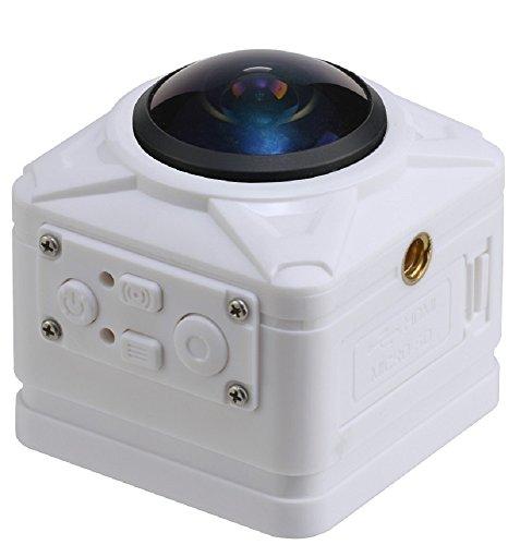 joyeux(ジョワイユ) 16 メガピクセル フルハイビジョン WiFi 対応 360° VIEW CUBECAM PRO ホワイト JOY700W...