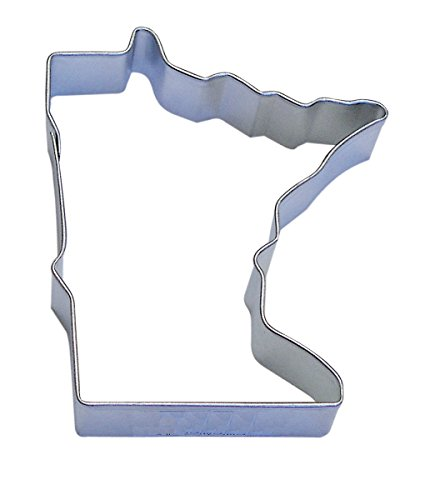 R&M Minnesota State Cookie Cutter in Durable, Economical, Tinplated Steel