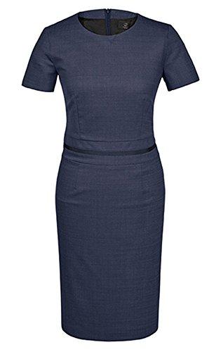 GREIFF Damen-Etuikleid Regular Fit, modern with 37,5, Regular fit, 1714, Pinpoint Marine, Größe 44